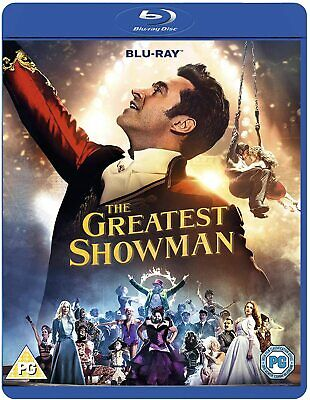 THE GREATEST SHOWMAN BLU RAY Sing along Hugh Jackman Rebecca Ferguson NEW R2 UK