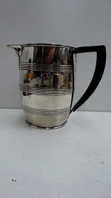 George 111 Antique Sterling Silver Jug Horn Handle Peter Ann William Bateman