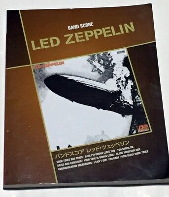 LED ZEPPELIN Led Zeppelin JAPAN BAND SCORE SONG BOOK GUITAR TAB Jimmy Page