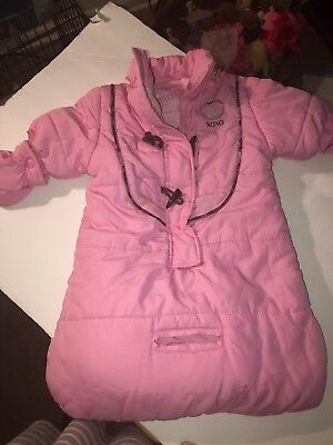 fbe02ae2c GAP BABY BUNTING Winter baby snowsuit 0-3 months-GIRLS -  3.99 ...