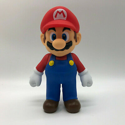 Super Mario Odyssey Figure Mario Toy Super Mario Bros. Plastic Doll 5""