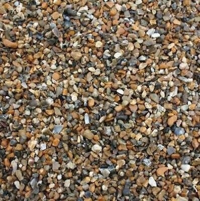 10mm or 20mm DRIVEWAY GARDEN PEA SHINGLE GRAVEL PEA GRAVEL 25KG BAGS