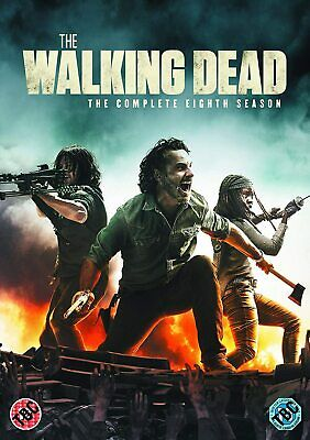 THE WALKING DEAD COMPLETE SERIES 8 DVD 8TH Eighth Season All Episodes New R2 UK