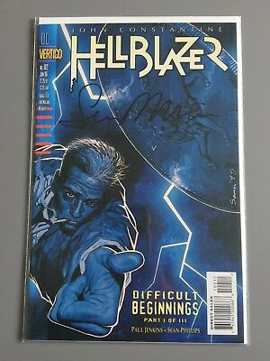 HELLBLAZER   # 102      SIGNED by Sean Phillips