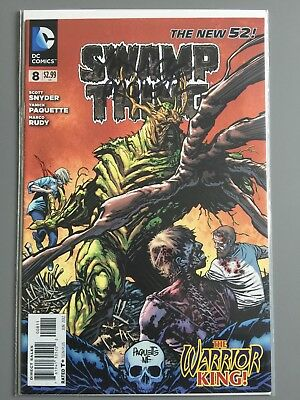 SWAMP THING ( Vol 5 ) # 8  -  SIGNED by Yanick Paquette