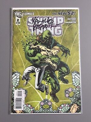 SWAMP THING ( Vol 5 ) # 2  -  SIGNED by Yanick Paquette