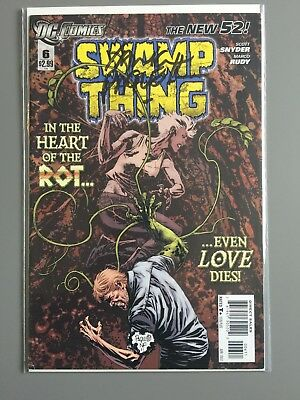 SWAMP THING ( Vol 5 ) # 6  -  SIGNED by Yanick Paquette
