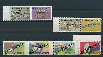 LJ79050 St Vincent specimen folklore & artefacts edges MNH