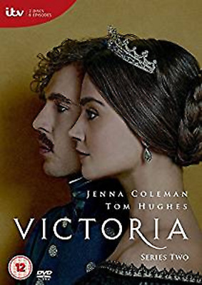 VICTORIA COMPLETE SEASON 2 DVD Second Series Jenna Coleman Original UK NEW R2