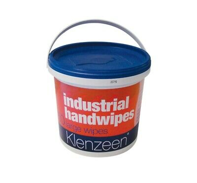Industrial Hand Wet Wipes One Off 50 Wipes per Tub Non-abrasive low alcohol