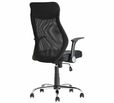 Black Deluxe Office Chair Executive Gaming Height Adjustable Home Office Swivel