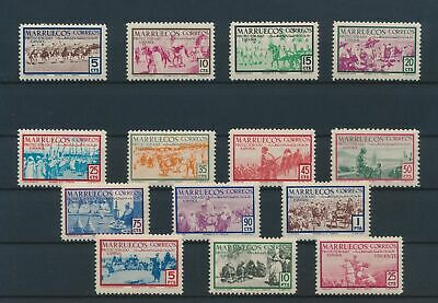LJ79238 Morocco Spanish protectorate camels animals fine lot MNH