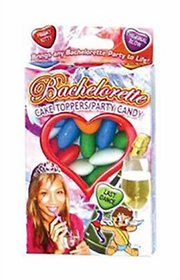Bachelorette Party Cake Topper / Party Candy Heart Shaped - 1.6 oz Box