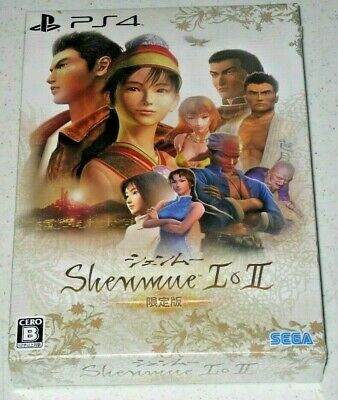 SHENMUE I & II [LIMITED EDITION] PS4 JAPANESE Shipping from Europe new sealed