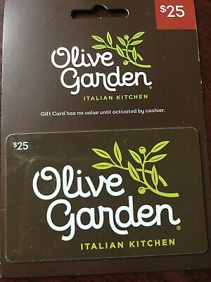 $25 Olive Garden Gift Card Free Shipping