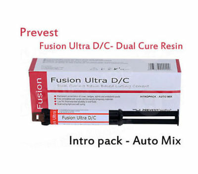 Dental Dual Cure Resin Based Composite Adhesives Lute Cement-Fusion Ultra D/C