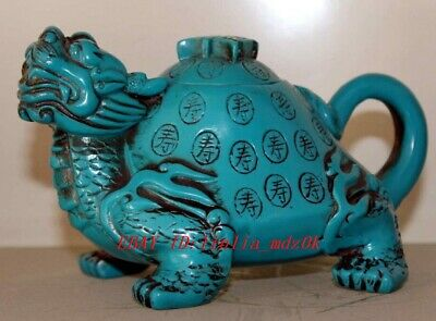 Superb Chinese Hand-Wrought Painting Dragon Collectable Rare Compass Rb