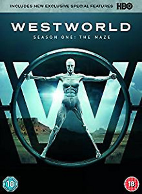 WESTWORLD COMPLETE SERIES 1 DVD First 1st Season One Brand NEW UK Release R2