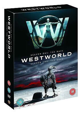WESTWORLD COMPLETE SERIES 1-2 DVD Collection 1st 2nd Season One Two 1 & 2 UK NEW