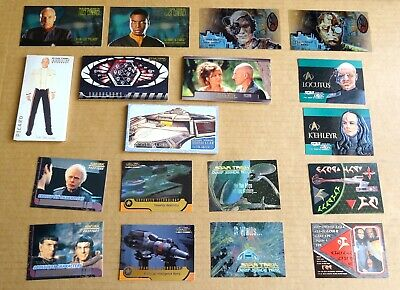 Multi-List Selection Of Star Trek Trading Card Chase Cards Mixed Sets
