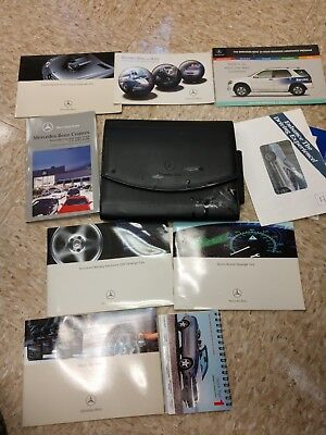 2004 Mercedes Benz CLK Owners Manual Supplements  & case service