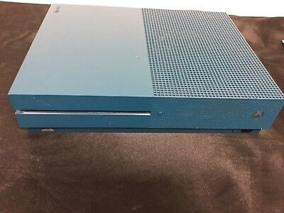 MICROSOFT XBOX ONE S 500GB Blue console with 1 game - $110 00 | PicClick