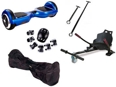 HOVERBOARD Patinete Scooter KIT. CARRO + FUNDA + PROT. + MANILLAR. 09453