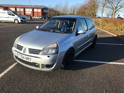 Renault Clio 172 Cup Track Car Roll Cage 66K Miles Cat N
