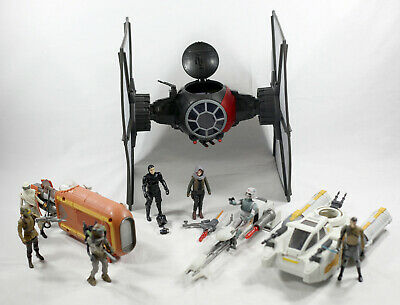 Modern Star Wars Hasbro Rogue 1 Force Awakens Rebels Lot - 100% Complete MINT
