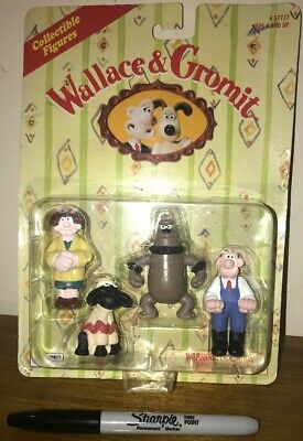 Rare 1989 Irwin Toys Wallace and Gromit Collectible Figures Toys US Seller