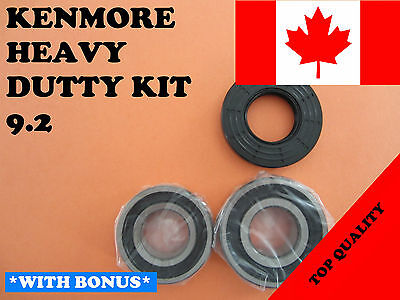 FRONT LOAD WASHER,2 TUB BEARINGS AND SEAL, Kenmore,Sears, KIT # 9.2