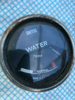 VINTAGE  Smiths   temperature gauge -numerous listed low start