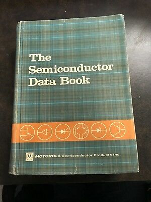 The Semiconductor Data Book 3rd Edition by Motorola (1968, Hardcover)