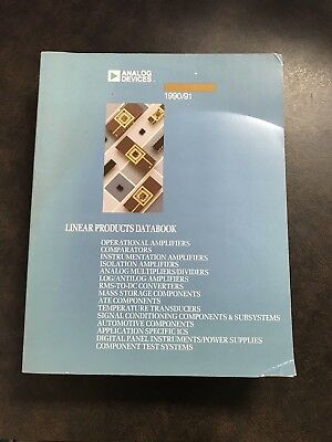 Vintage Analog Devices Linear Products Databook 1990-91