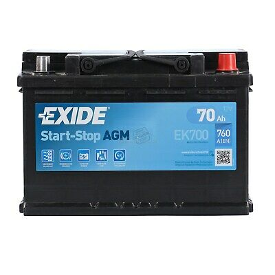 Exide EK700 AGM Start-Stop