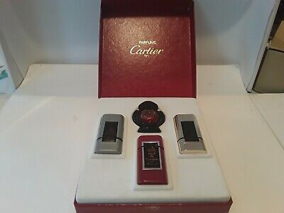 Cartier Cofret Parfum Must, Parfum Panthere, Edt Must, Edt Santos 4Ml X 4,  Rare