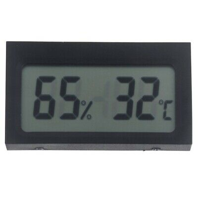 2X(Digital LCD Indoor Thermometer Hygrometer Humidity E8R8)