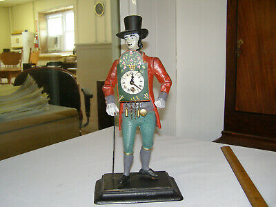 Antique/Vintage Old German Swiss Figural Clock