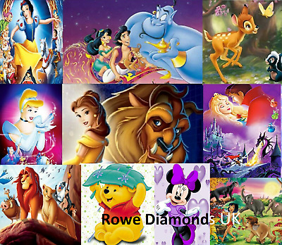 5D Diamond Painting Cross Stitch Cute Disney Characters Cheap Craft UK stock