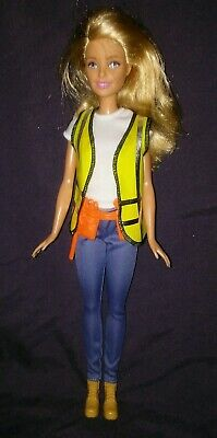 Barbie Careers Construction Worker Builder Doll