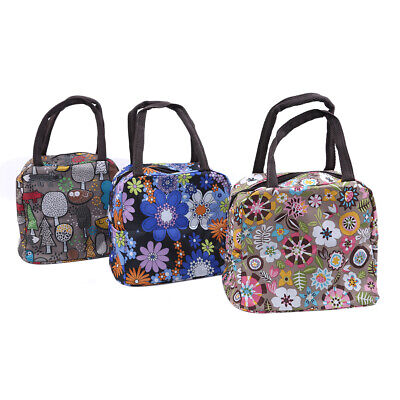 New Cartoon Forest Portable Thermal Cooler Lunch Box Tote Travel Storage Bag LH