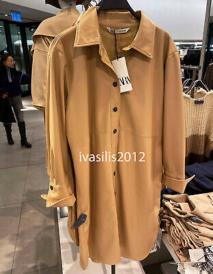 51e8ad5d ZARA NEW WOMAN Check Frock Coat Double-Breasted Green Xs-L Ref. 2219 ...