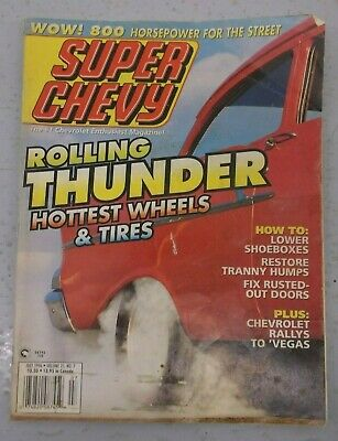 Super Chevy Car Magazines July 1996 Foxy 42 Trucks Wheels Tires Issue Classic