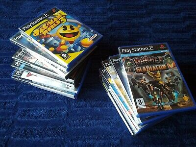 Juegos Ps2 A Elegir Pal Spain Ratchet Crash Jak Gta Pacman Tom Clancy Yakuza