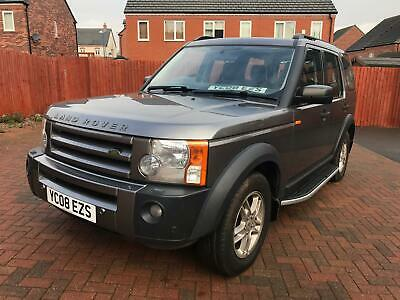 2008 Land Rover Discovery 3 Tdv6 Gs Manual 2.7 Diesel 7 Seater 64K Fsh