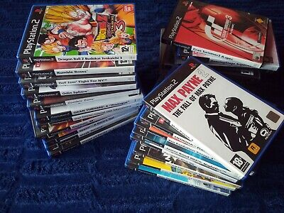 Juegos Ps2 Completos A Elegir Pal Spain Gta Dbz Nfs Gt Trilogy F1