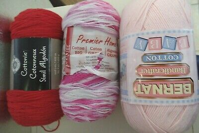Yarn..-- 14 0Z Cotton..assorted Colors