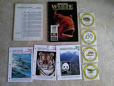 Wildlife - 2 posters, 4 stickers, 1 album, magazine & 3 cards