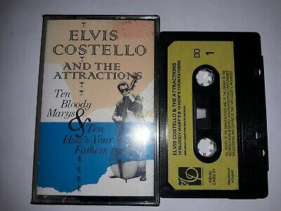 Elvis Costello 10 Bloody Mary's Uk Cassette Album Fiend Cass27  1984 Compilation
