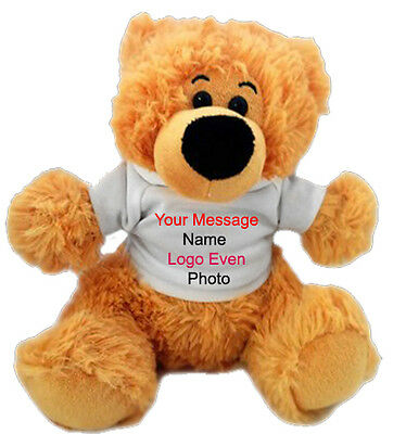 Personalised 12 inch TEDDY BEAR  Gift for  Wife, girl  boy friend, any time